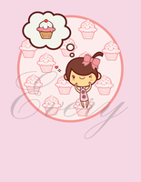 Cupcake love by crossankle