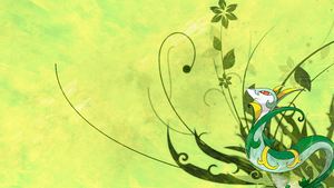 Serperior Wallpaper by Marudeth