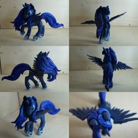 Princess Luna figure by Dalagar