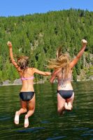 Jump with your Best Friend by Sarah--Beth