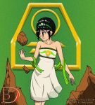 Toph bending like you would not believe. by TITANOSAUR