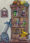 Dangerous to go alone Cabinet ATC by emmadreamstar