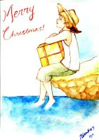 Merry Aussie Christmas by waterpieces
