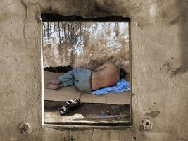Window to poverty by gilad