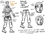 Female Military Hero Concepts #2 by rittie145