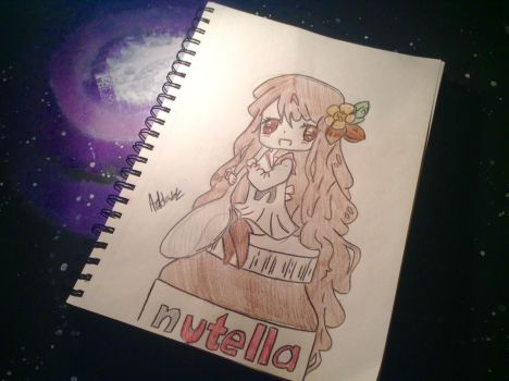 :Nutella: by ArtEveryday4ever