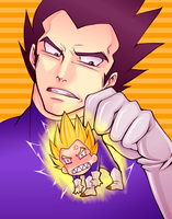 Vegeta by DANGERAID