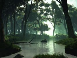 Swamp by Andrescamilo1985