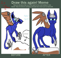 Before and after meme by Amy-Blood-Leaf