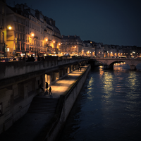 Paris by night by C-Jook