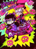 MH-Voodoo,and Zombies, and Ghosts..OH MY by Rockerchick22