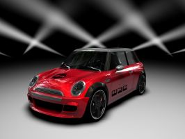 mini cooper new shader by 3DEricDesign