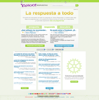 Yahoo Answers redesign - Pt 1 by YaroManzarek