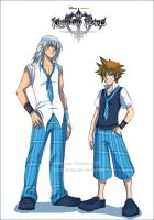 Schoolboys - KH2 by Noiry
