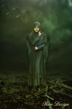 Dark Angel Photo Manipulation by Rshant