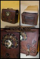 sac steampunk convertible by Tempus-factoris