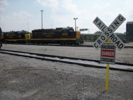 Railroad Crossing by LDLAWRENCE