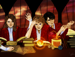 wtf are you feeding our tardis by Tylesti