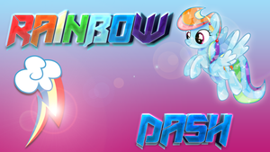 Wallpaper #3: Rainbow Dash by InfiniteWarlock