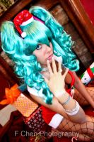 Christmas Hatsune Miku by GinaBCosplay