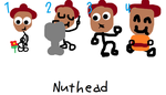Official Nuthead Illustrations by Crappedman