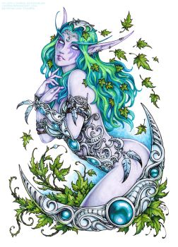 Tyrande Whisperwind (SFW version) by Candra