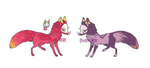 Mystery foxskull Auction by CATS0UP