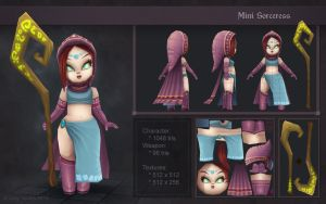 Mini Sorceress by OminousHam