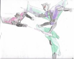Brother and Sister Rivalry by GoddessofPerversity