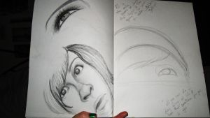 Pages from my sketch Pad pt5 by elethoniel
