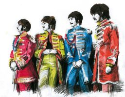 Shiny Beatles by GrungeIndiani