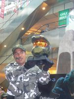 CLOSE UP MASTER CHIEF HELMET by victortky