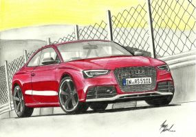 Audi RS5 by ArtOfCreativity