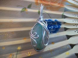 Waves in Aventurine by Nevermore-Studios