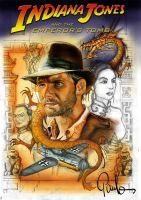 Indiana Jones Poster Evo2 by PauloDuqueFrade