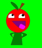 Marvin the Apple teehee by babypixee