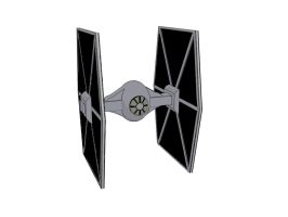 TIE Fighter Paint by Sirix2011