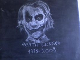 Heath ledger by facuzon