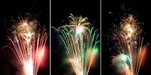 4th of July Fireworks Stock 1 by AreteStock