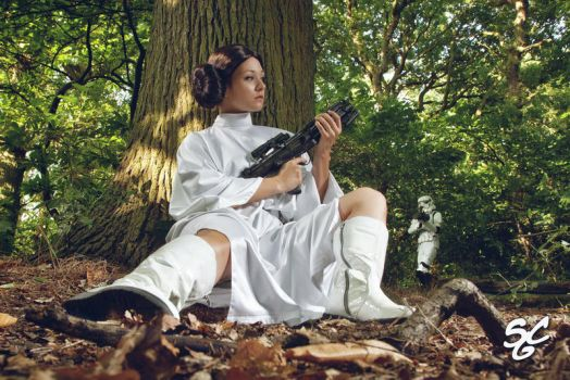 SW: Princess Leia III by Aigue-Marine