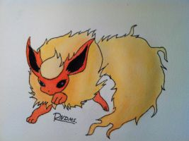 Flareon by Randomous