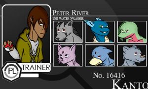 Trainer-Peter River by Pokemon-League