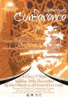 Winter youth Conference flyer by EnamC