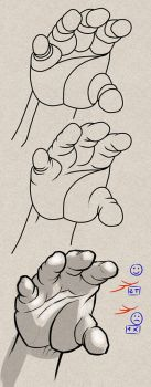 [Step-by-step Tuto] How to draw shortcut on hands by PitGraf