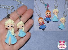 Frozen Necklace by dragonfly-world
