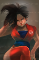 COMMISSION: Genderbent Goku by longlovevegeta