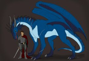 Aedan and the Dragon by Aarok