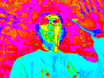 Manipulated Selfie 75: More Saturated Madness by TheSkull31