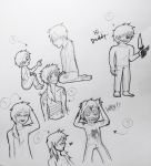 Red Randy - Random Sketches 2 by I-Luv-Emoboys