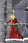 Winter at Castlevania 2 by Kayleen